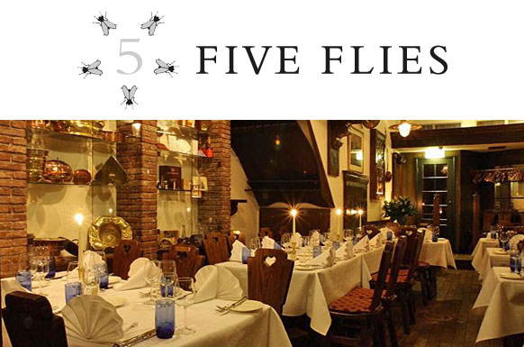 Five Flies Restaurant, Cape Town